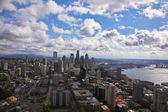 シアトルの壮大なアメリカの都市 — ストック写真