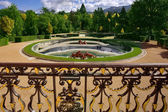 Magnificent park in style of the French classicism — Stock Photo