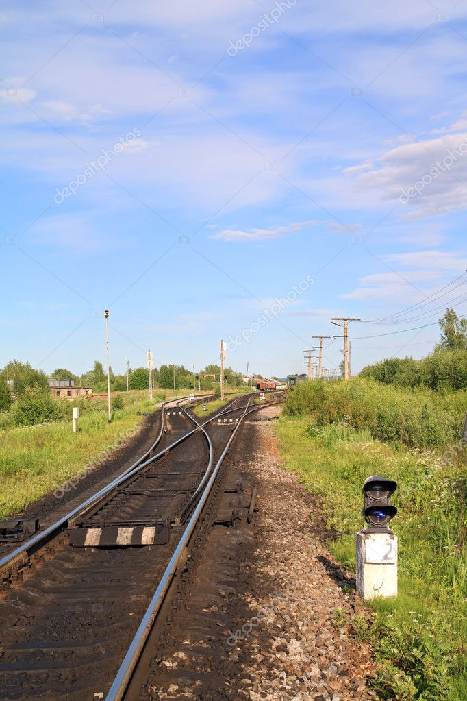 Railroad — Stockfoto #6838257