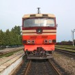 Diesel locomotive — Foto Stock