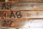 Yaşlanma kapı — Stok fotoğraf