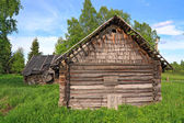 Old house in abandoned village — Stock Photo