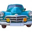 Retro car on white background — Stock Photo #6913332