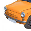 Retro car on white background — 图库照片 #6913484