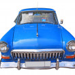 Retro car on white background — Stock Photo