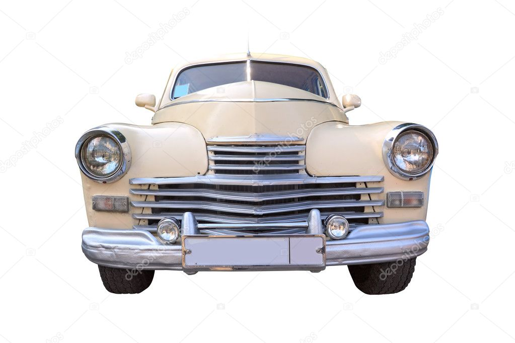 Retro car — Stock Photo #6913150