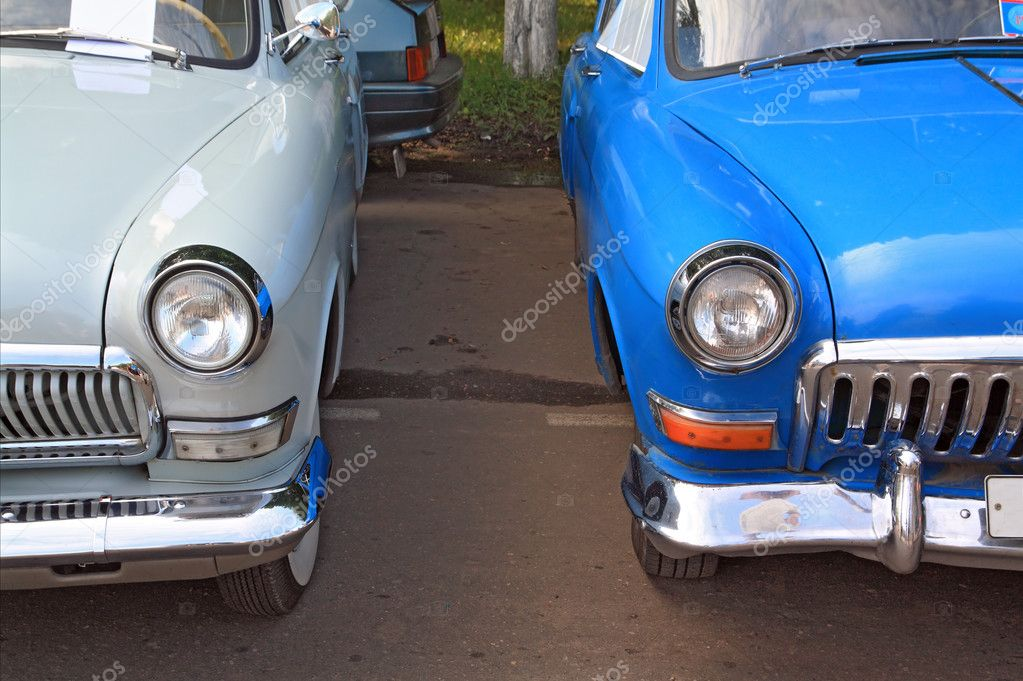 Retro cars — Stock Photo #6913644