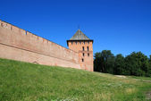 到老堡垒塔 — 图库照片
