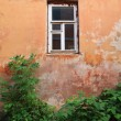 Window in old-time house — Stock Photo