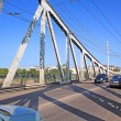 Stock Photo: Town car bridge