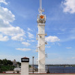 River lighthouse — Stock Photo