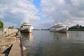 モーター船 — ストック写真