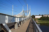 Town car bridge — Stock Photo