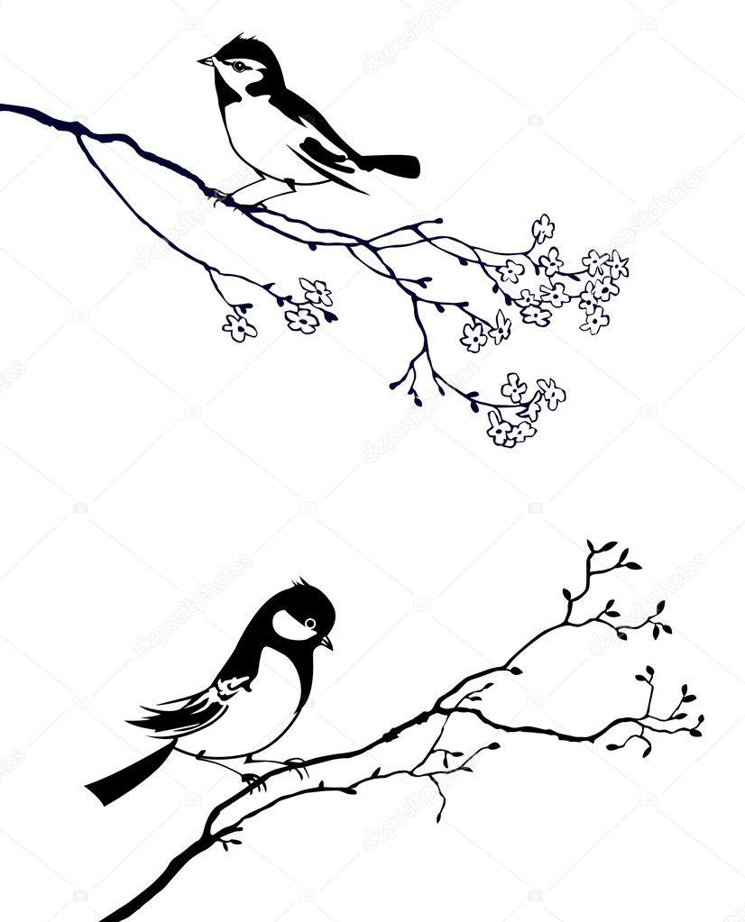 Птицы из дерева своими руками эскизы
