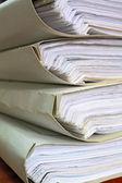 старые документы — Стоковое фото