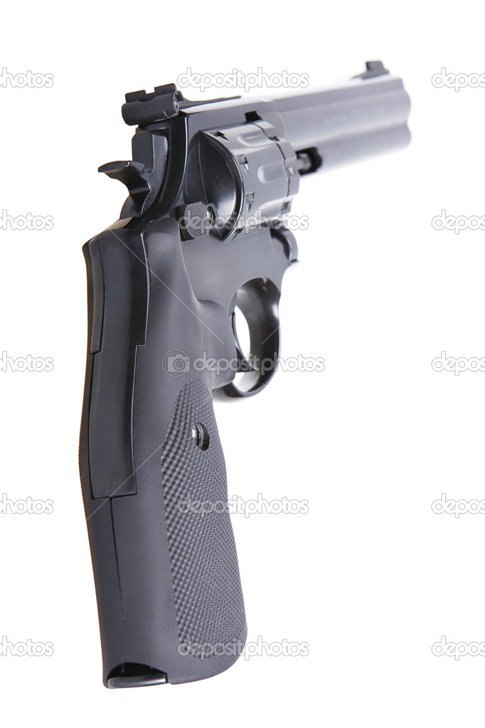 Revolver Gun  Stock Photo #7289658