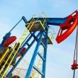 Oil pump jack — Stock Photo #7290077