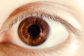 Eye close-up — Stock Photo