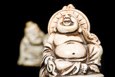 Chinese statuette — Stock Photo