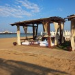 Постер, плакат: Pavilions Planet Beach Club on the beach