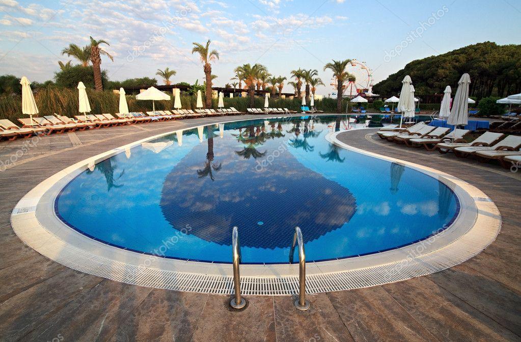 Swimming Pool Of Sueno Hotels Beach Side 5 Stock Photo