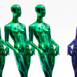 Royalty-Free Stock Photo: Mannequins standing