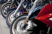 Motorcycle wheels — Foto Stock