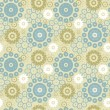 Vector de stock : Abstract floral pattern