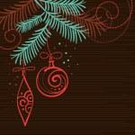 Elegant christmas background — Stock Vector #7316599
