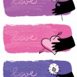 Royalty-Free Stock Vector Image: Banners of Valentine day