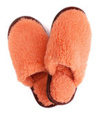 Pair of house slippers — Stock Photo