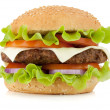Fresh burger - Stock Photo