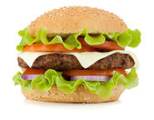 Fresh burger — Stock Photo