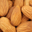 Close up of  almonds — Stock Photo