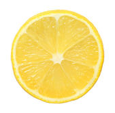 Slice of lime on white background — Stock Photo