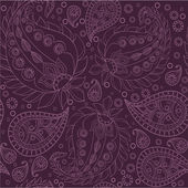 Paisley pattern, seamless — Stock Vector