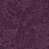 Paisley pattern, seamless — Stock Vector