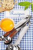 The book of recipes — Stockfoto