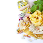 Composition of pasta — Stock Photo