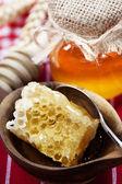 čerstvý med — Stock fotografie