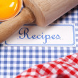 The book of recipes — Stock Photo #7803151
