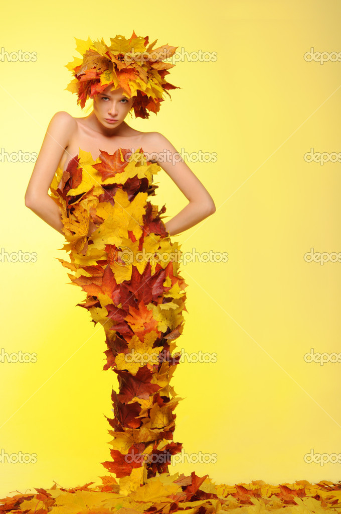 Картинки с изображением осени и осенних листьев
