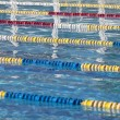 Swimming pool lanes — Stock Photo #7498221