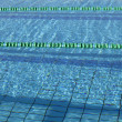 Swimming pool lanes — Stock Photo #7498293