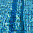 Swimming pool lanes — Stock Photo #7498384
