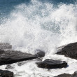 Breaking ocean waves — Foto Stock