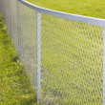 Metallic fence — Stock Photo #7559056