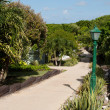 Resort pathway — Stock Photo