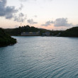 Antigua seascape — Stock Photo