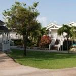 Gazebo and villa — Stock Photo #6823934